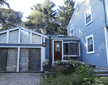Jame Hardie Siding Boothbay Blue Homescapes Of New