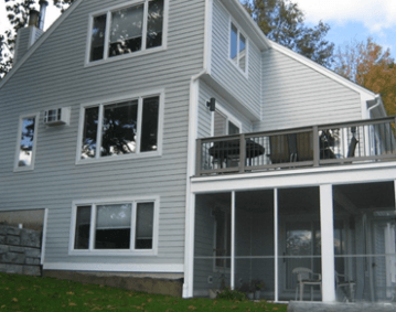 Jame Hardie Siding Light Mist Homescapes Of New England